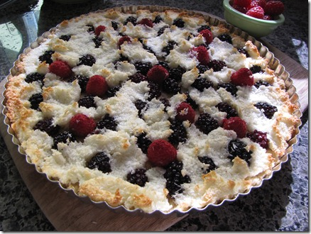 macaroon_tart_blackberries_raspberries_coconut