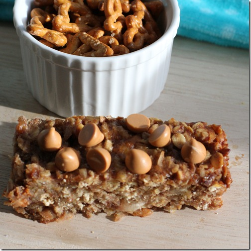 Recipe: Honey Peanut Butter Pretzel Granola Bars | Boston to Berkeley