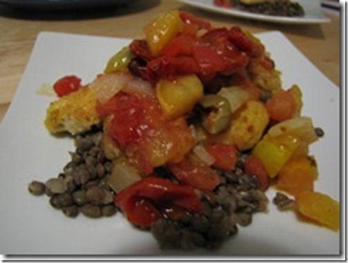 green_lentils_cornmeal_fillet_tomato_caper_sauce_thumb